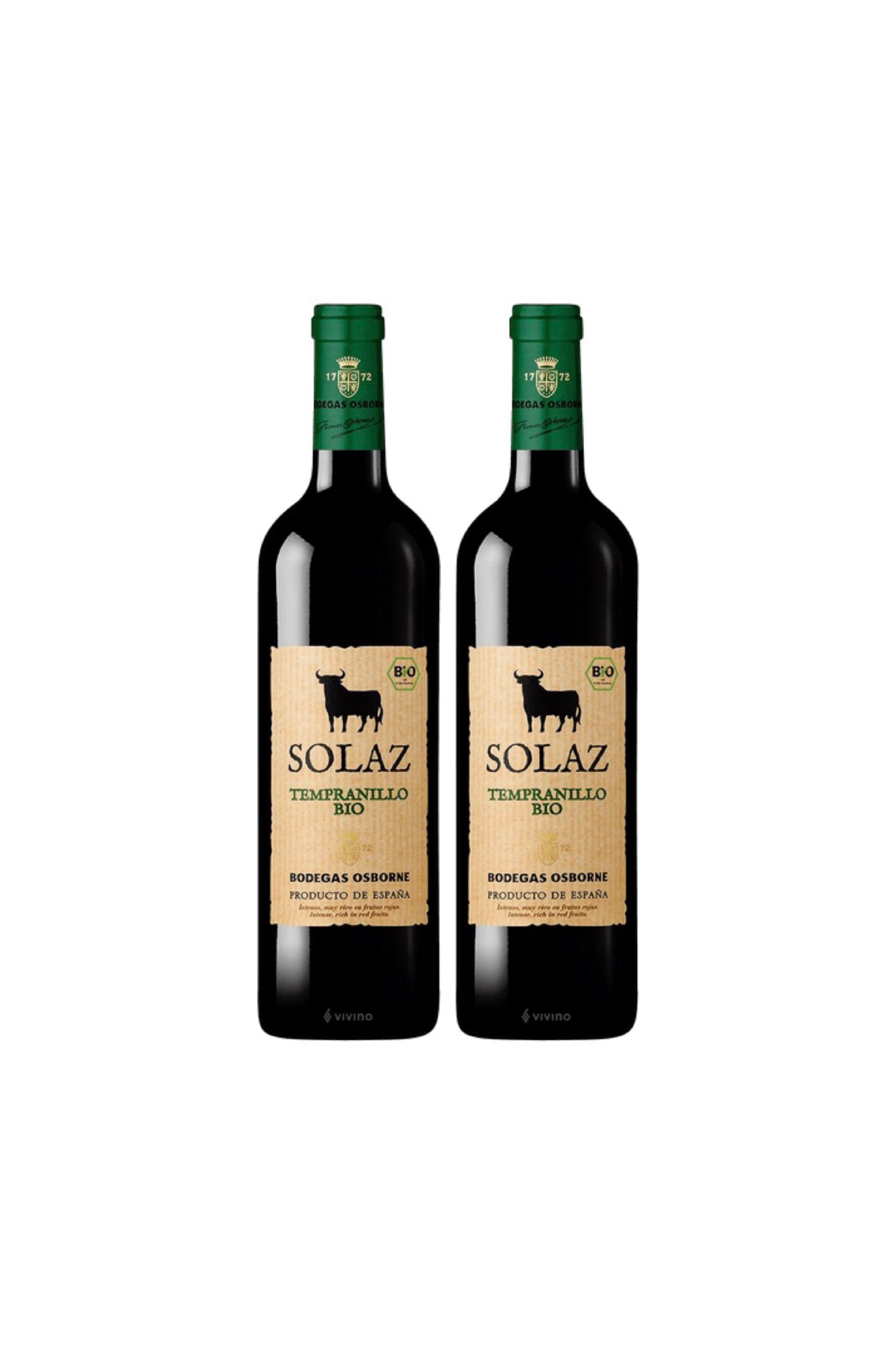 Spanish Organic Wine at $78 for 2 bottles!