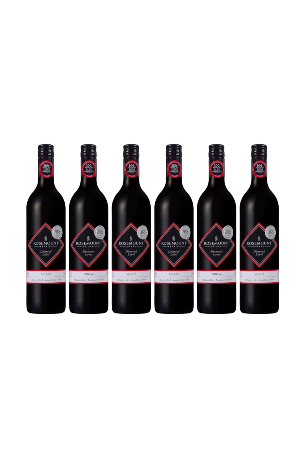 1 Case of Rosemount Diamond Label Shiraz (6 bottles)with 3 FREE Bottles of KWIRK BELGIUM Craft Beer worth $13.50!