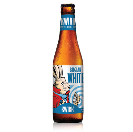 Kwirk Belgian White Beer (Pack of 24)
