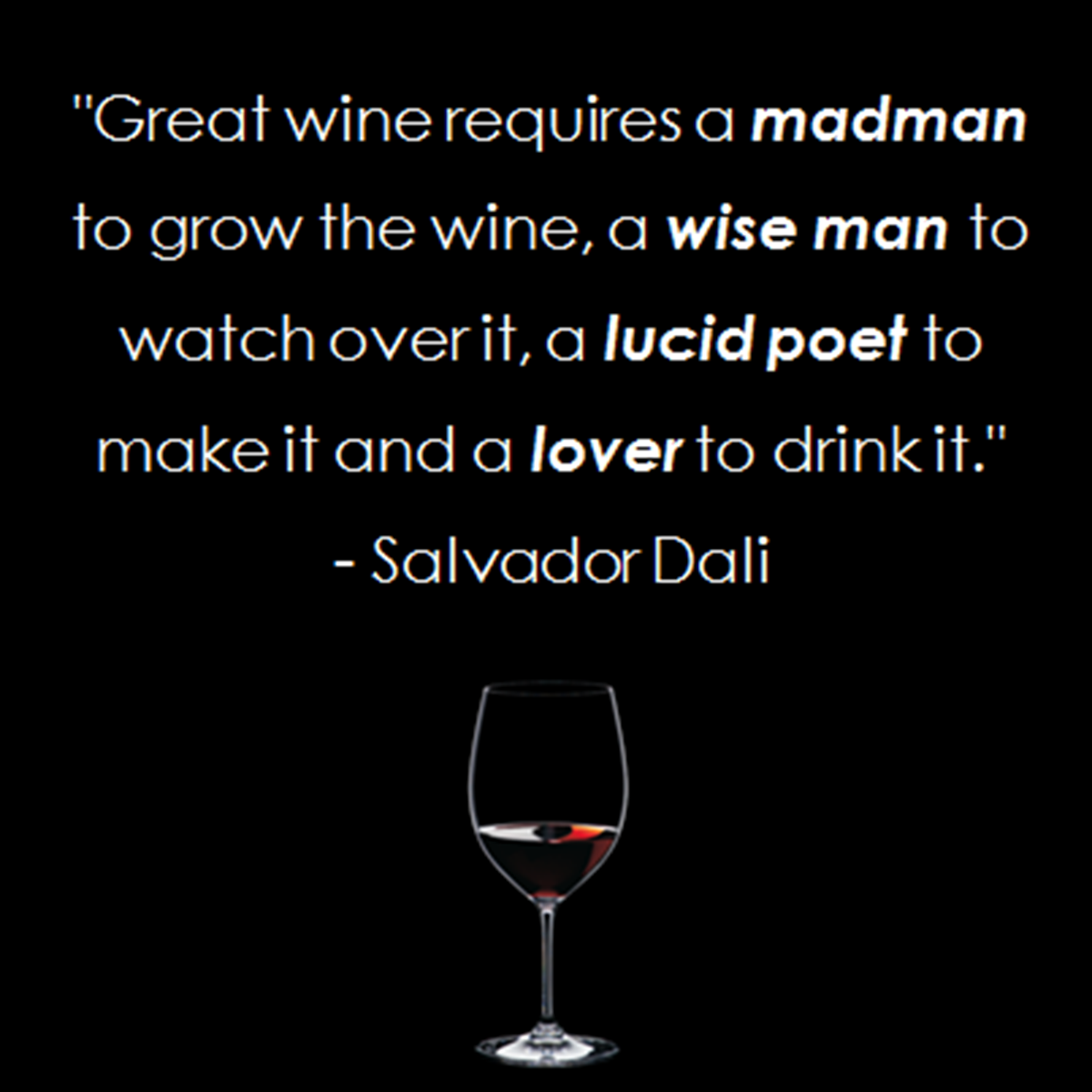 Wine Quotes: Salvador Dali