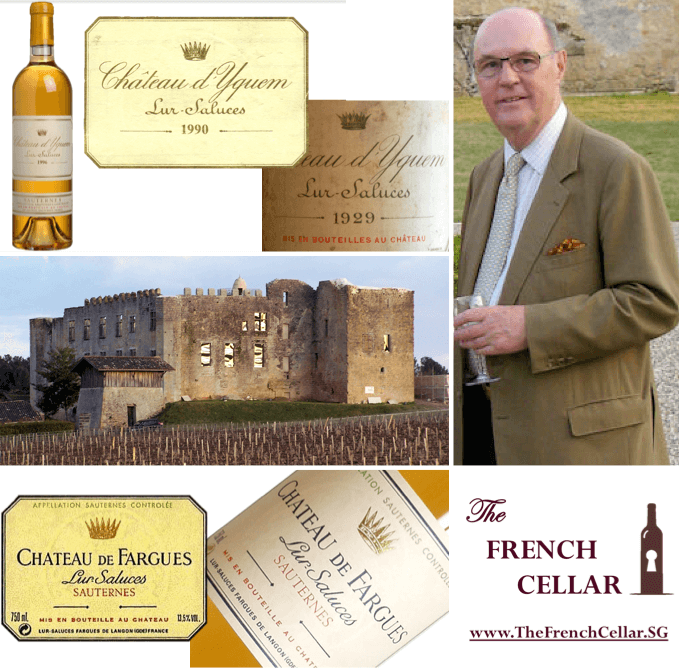 Le Comte Alexandre de Lur Saluces, Honorary Sponsor of The French Cellar