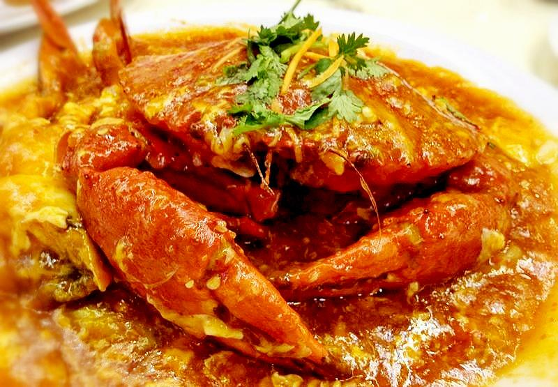 Wine Pairing: Chilli Crab with Wine