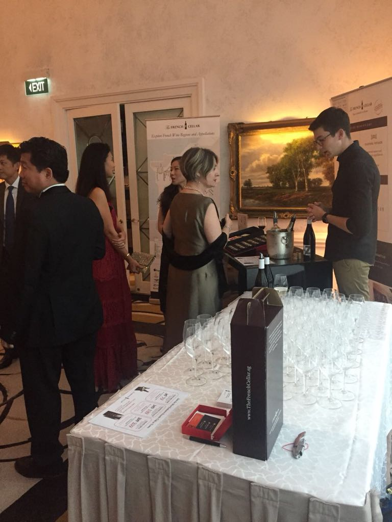 Private Wine Tasting event with Singapore Chapter of FF Fraternity