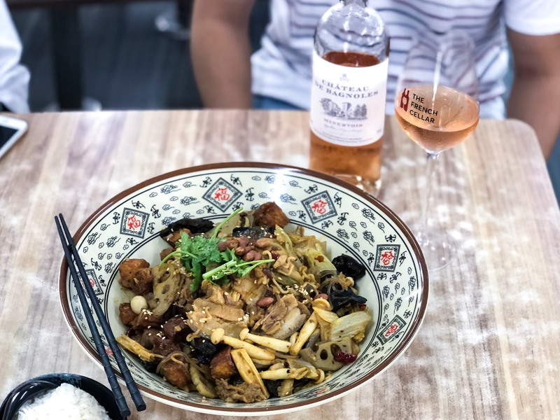 Wine Pairing: Rosé and Mala Xiang Guo?