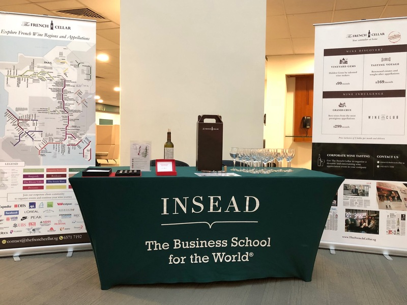 Wine Tasting Event with INSEAD