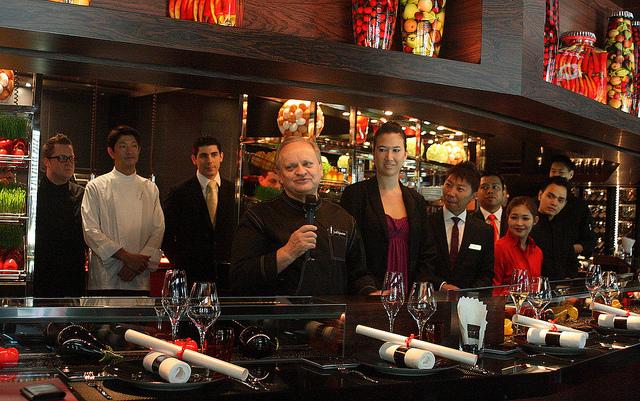Singapore's Michelin-starred restaurants