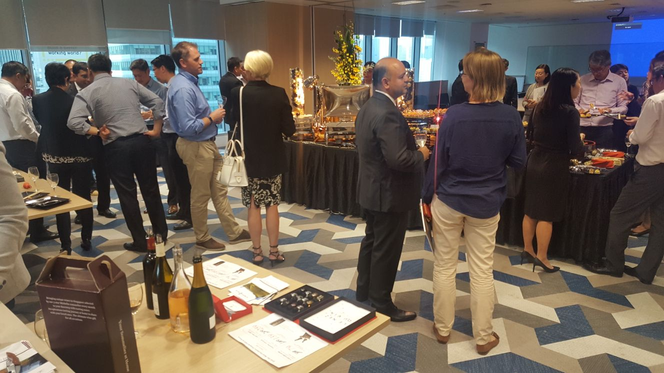 Corporate Wine Tasting with Standard Chartered
