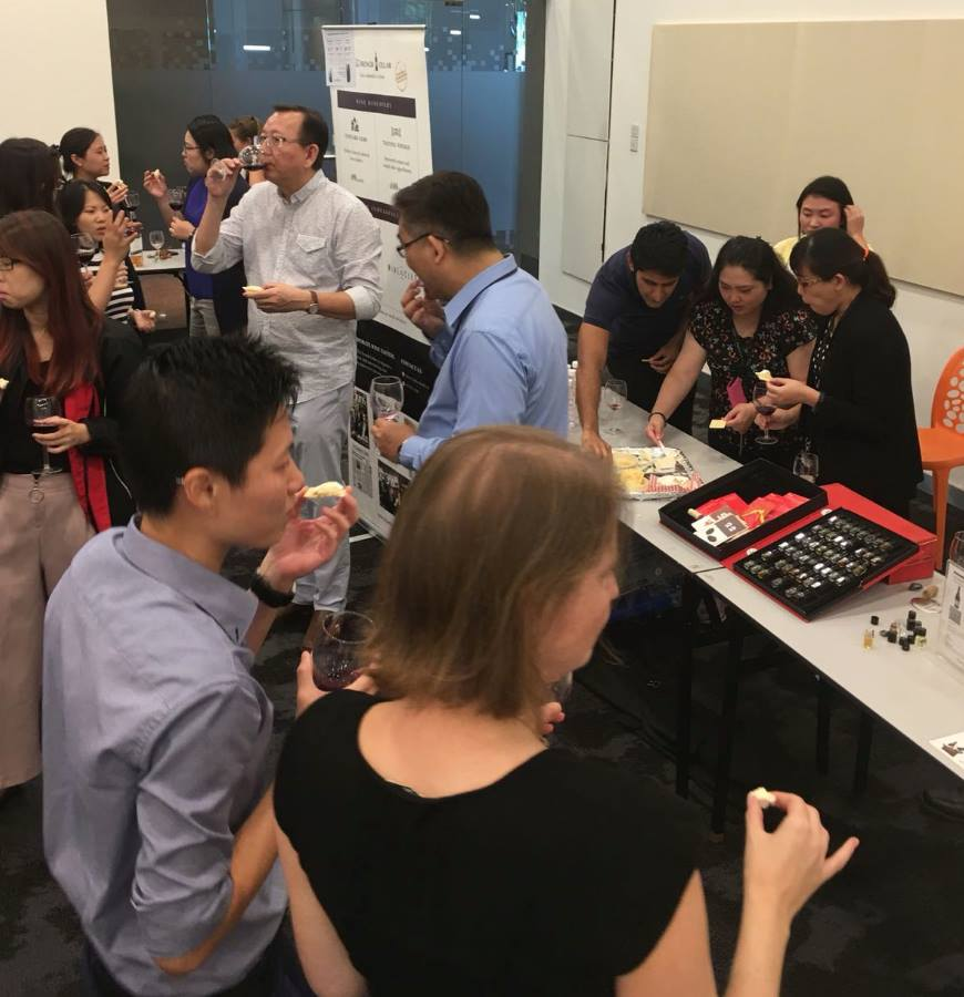 Singapore Institute of Technology Alumni wine tasting event