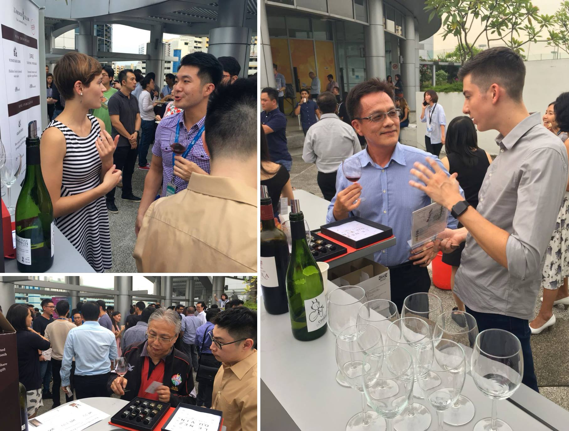 Corporate Wine Tasting event with SPH Singapore Press Holdings