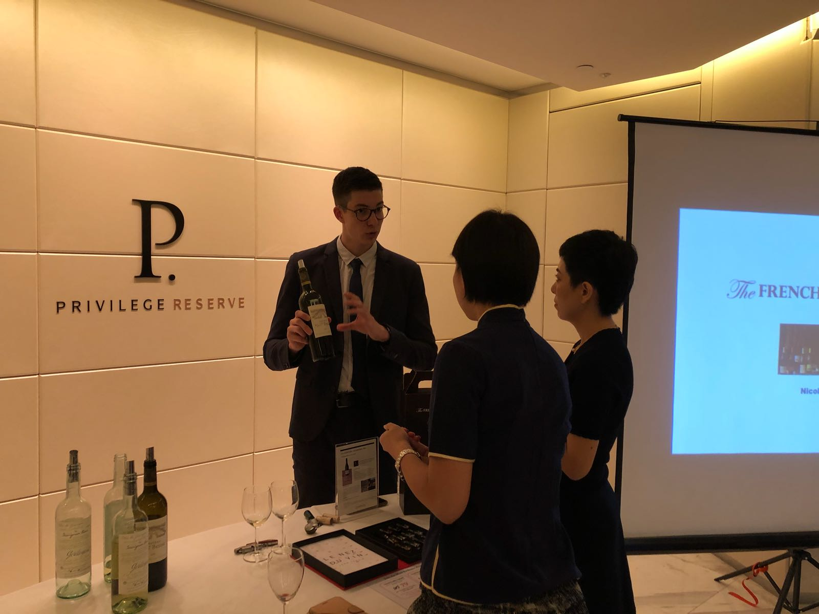 Corporate Wine Tasting with UOB