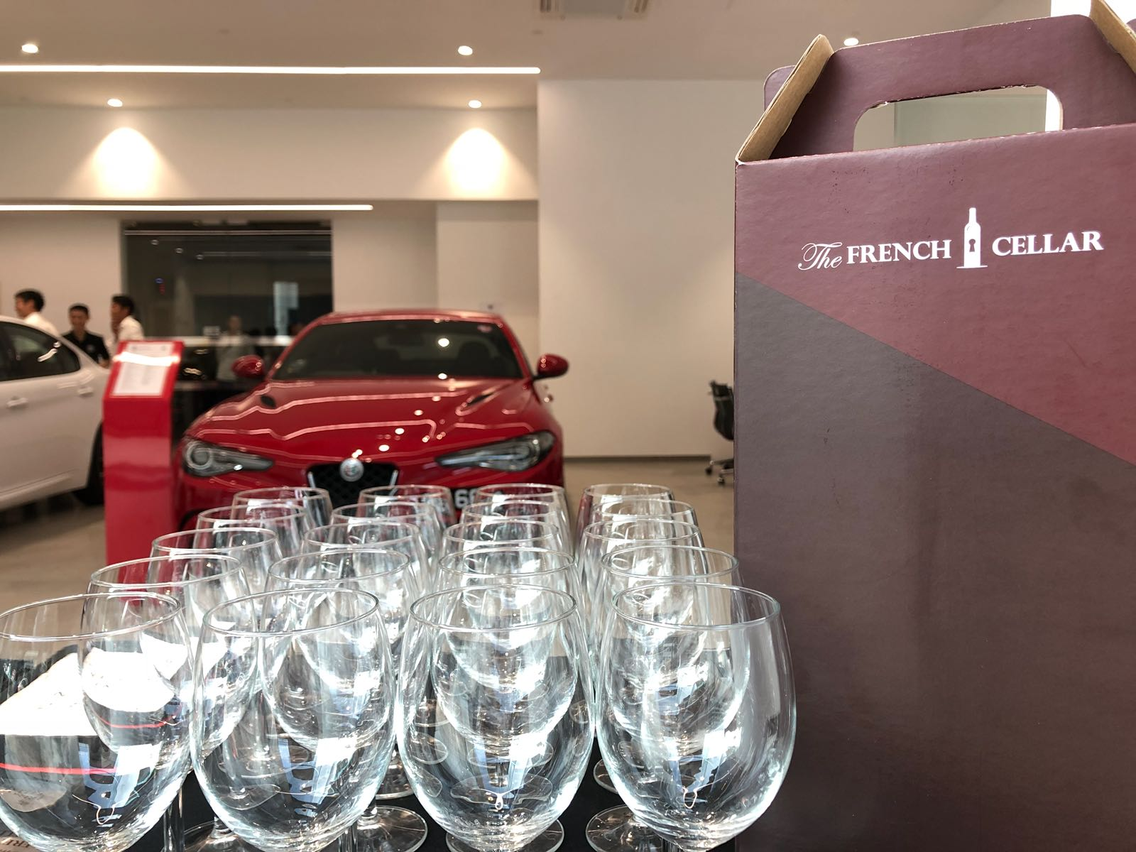 Private Wine Tasting event with Alfa Romeo