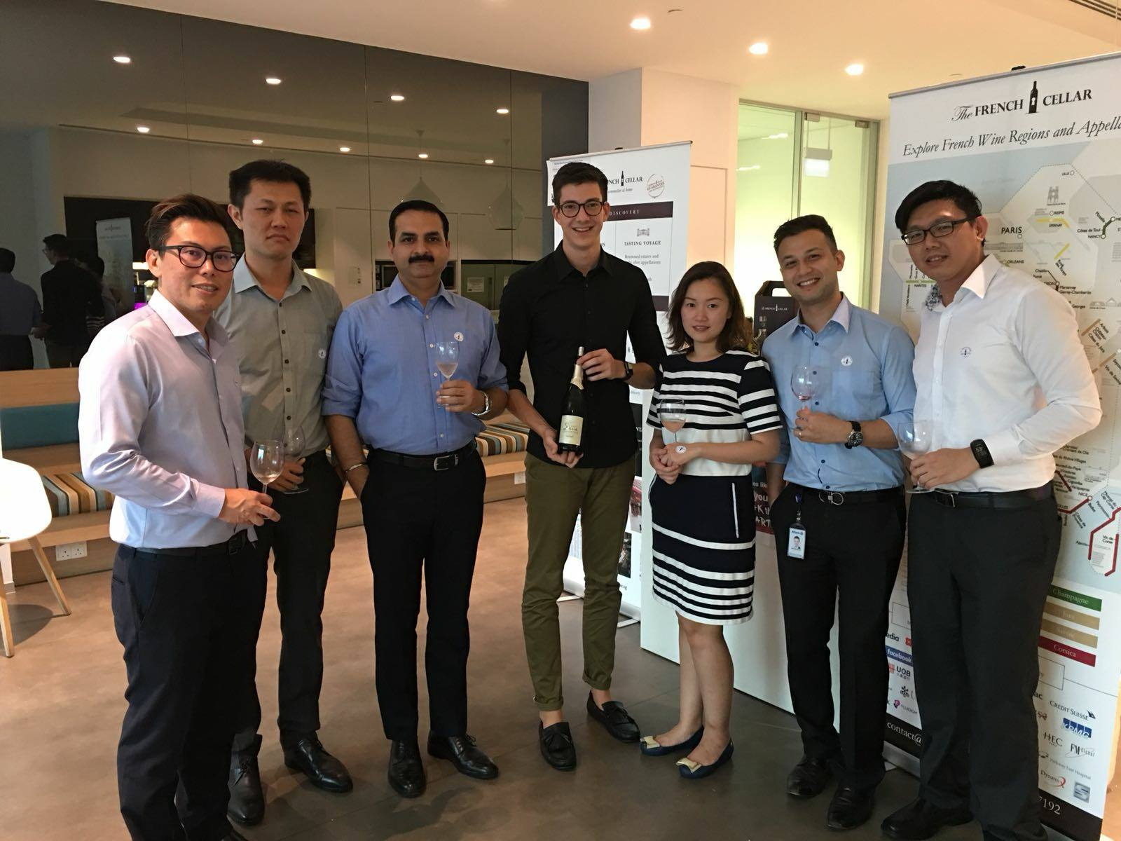 Corporate Wine Tasting event with a German Insurance Company