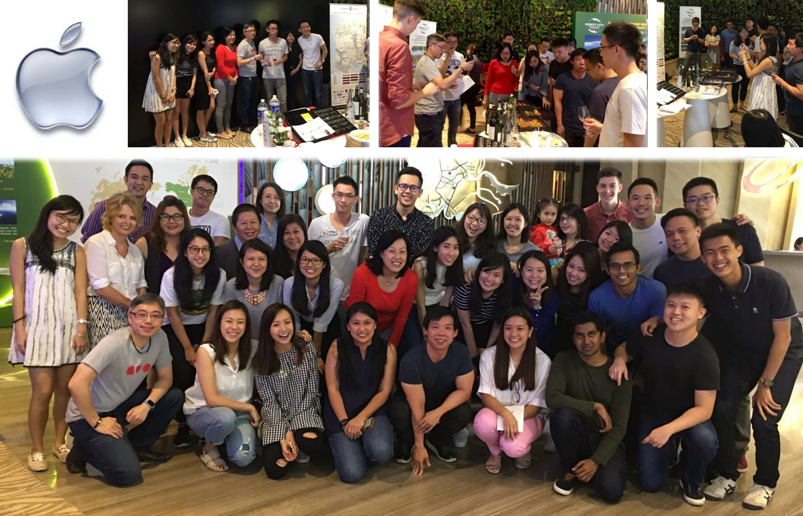 Corporate Wine Tasting event with Apple Singapore