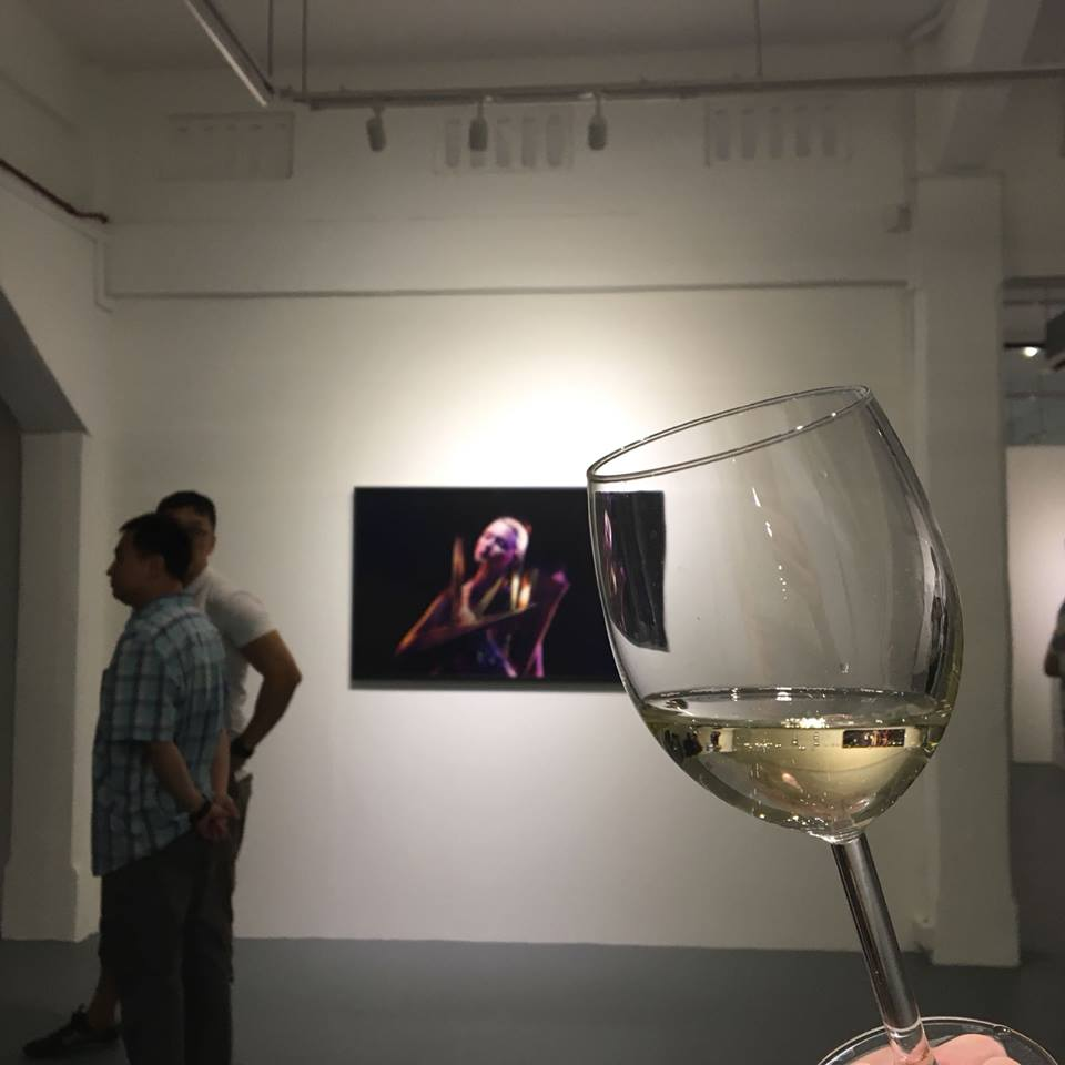Chan Hori Contemporary @ Gillman Barracks with The French Cellar wine tasting