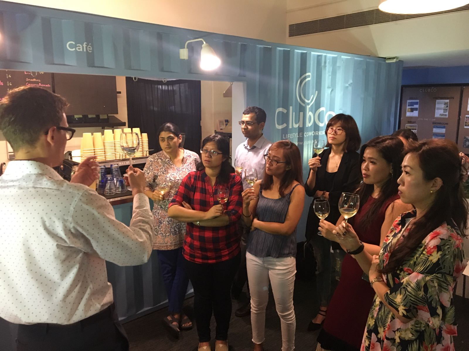 Private Wine Tasting event @ ClubCo
