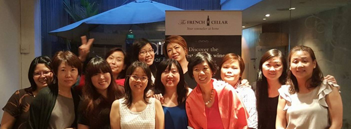 """""""We had a great time .. it was truly an enjoyable event .... learning about French wines and tasting some of the most lovely ones."""""""