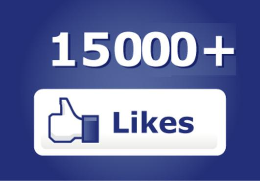 15,000 Fans on Facebook! Thank you