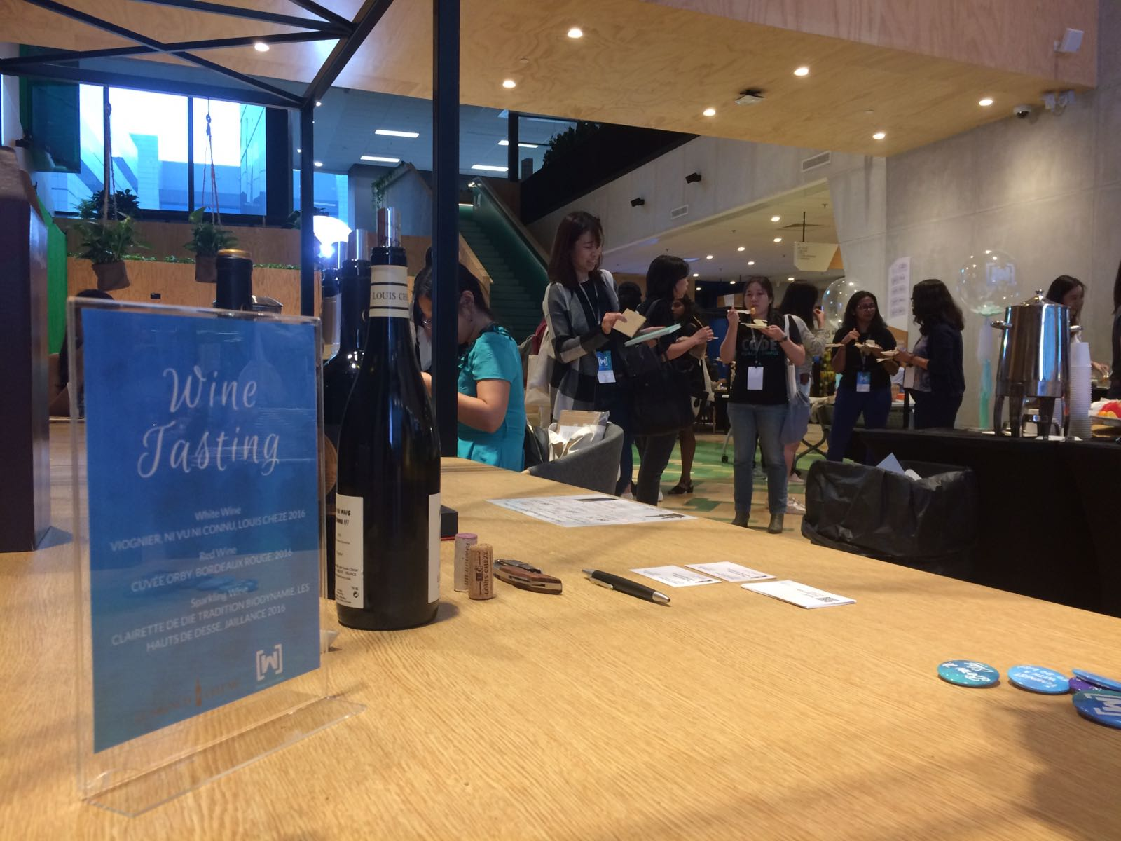 Google International Women Day with The French Cellar wine tasting