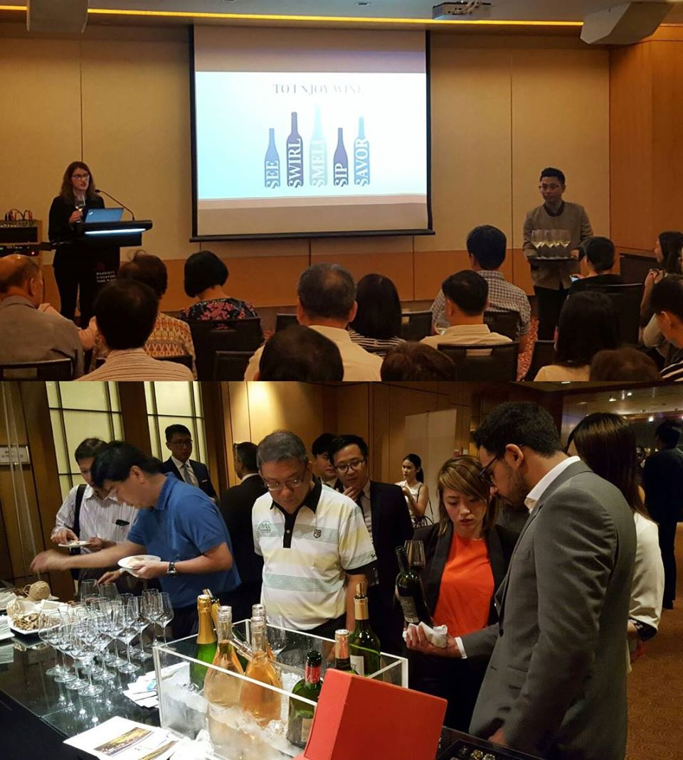 Corporate Wine Tasting event with HSBC