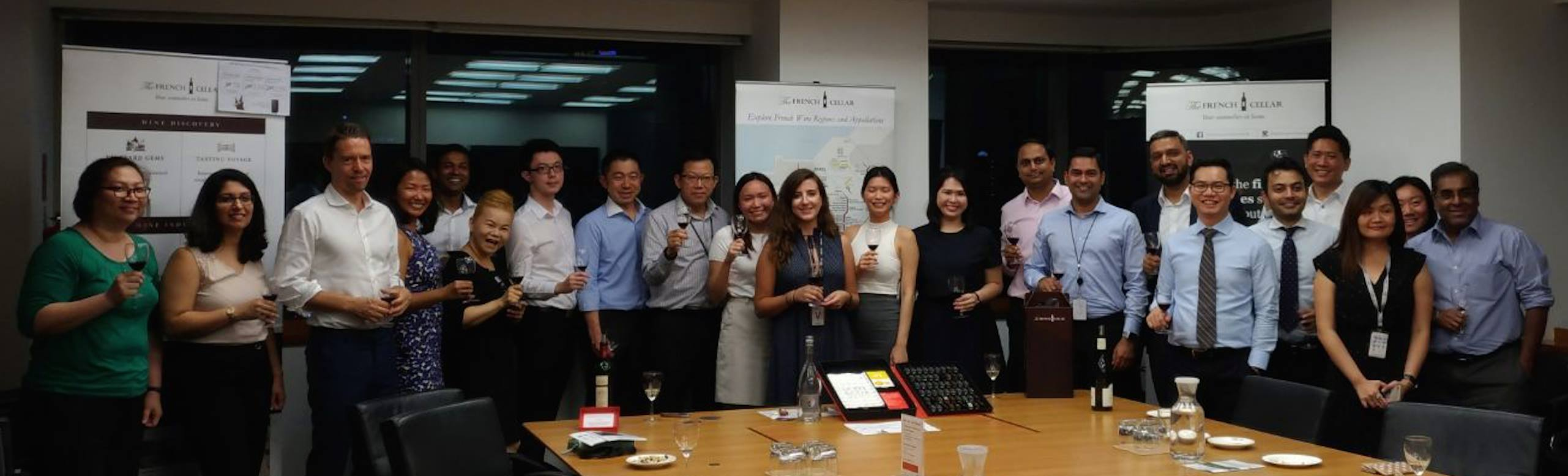 Corporate Wine Tasting with HSBC Singapore
