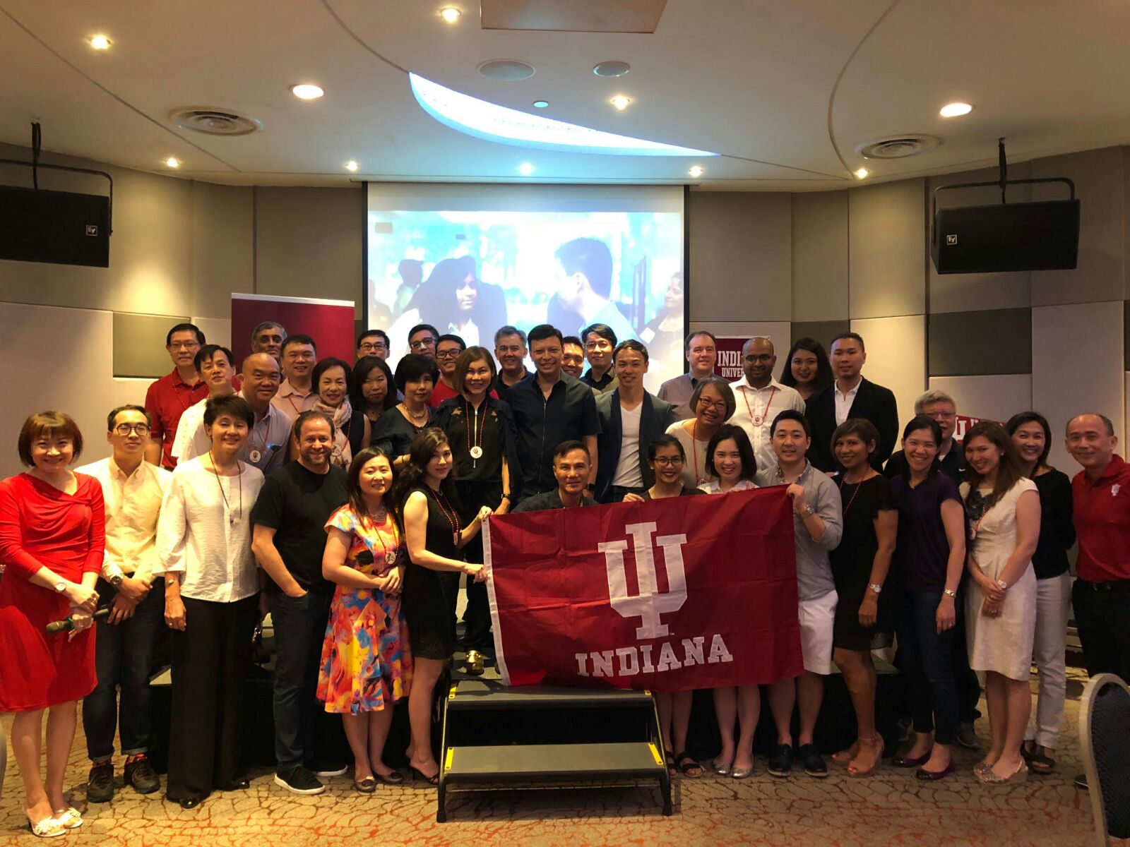 Wine Tasting event with Indiana University Alumni in Singapore