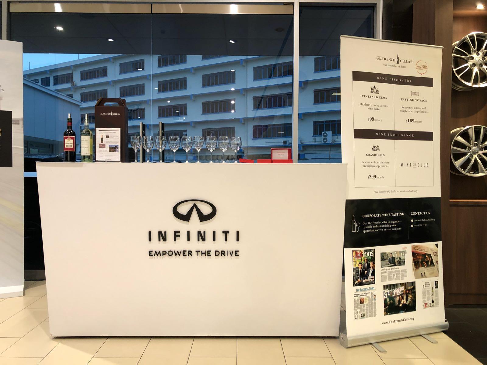 Corporate Wine Tasting with Infiniti