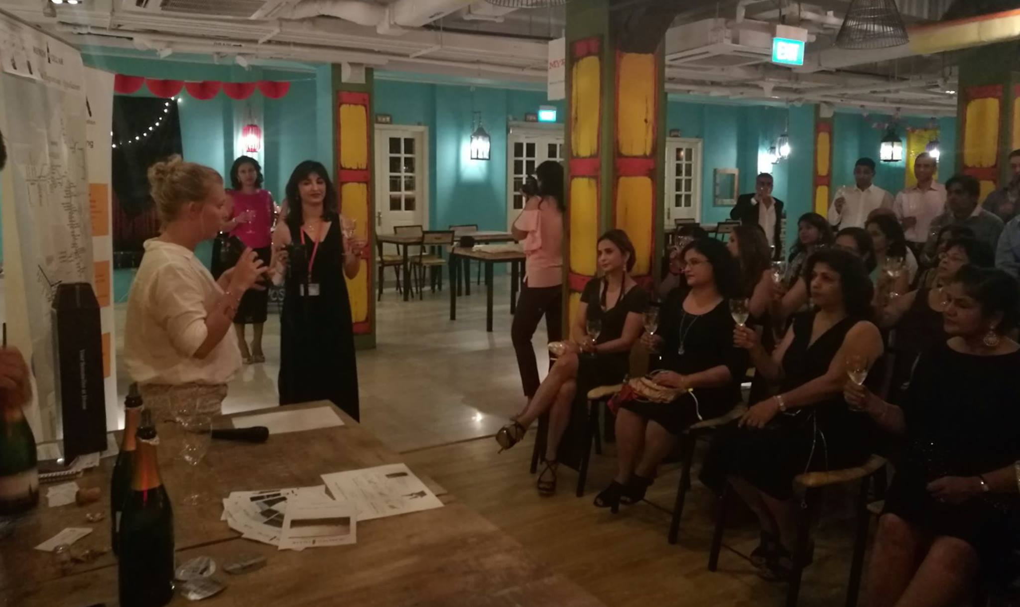 Wine Tasting event with Indian Women Association of Singapore