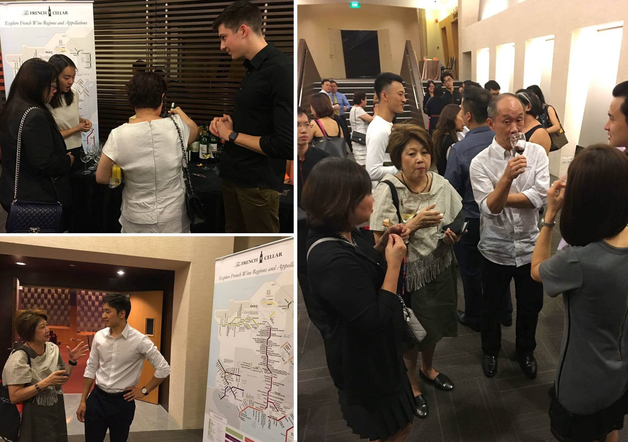 Corporate Wine Tasting event with Maybank