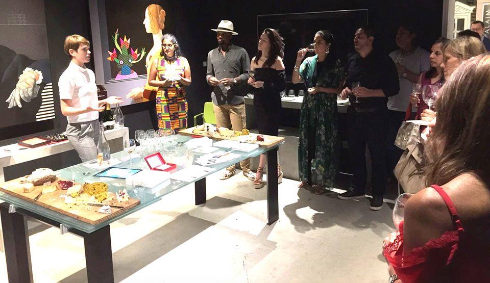 Wine Tasting event @ Miaja Gallery