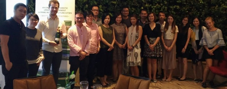 Corporate Wine Tasting event with Neo Garden Catering