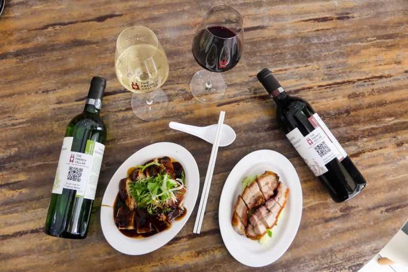 Wine Pairing: Long Lost Siblings: Chicken Rice & French Wine