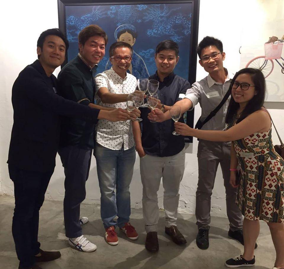 Singapore Polytechnic Alumni x The French Cellar Wine Tasting
