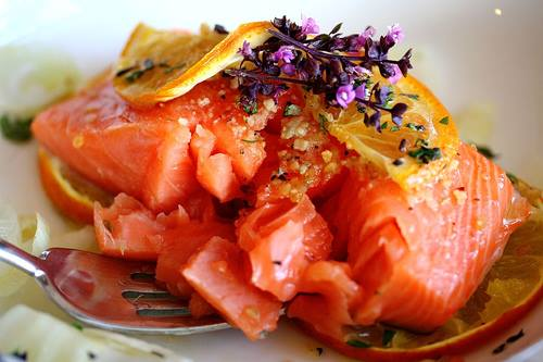 Wine Pairing: Baked Salmon with Wine