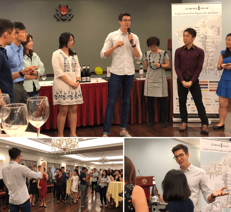 Corporate Wine Tasting event with Singapore Police Force