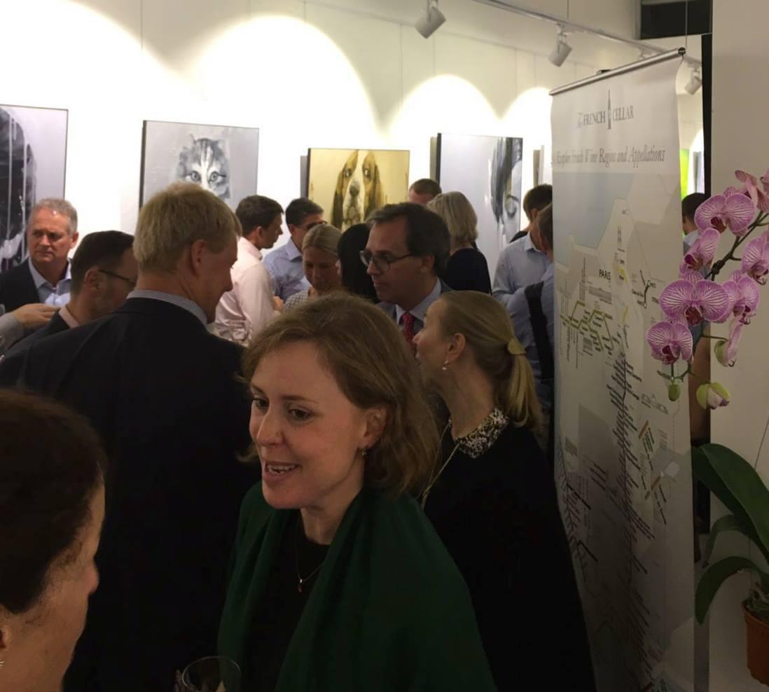 Swedish Business Association of Singapore x The French Cellar Wine Tasting