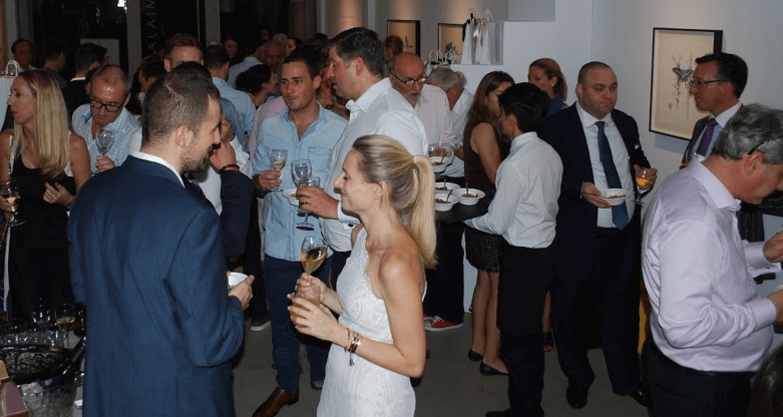 Swiss Association Wine Tasting event