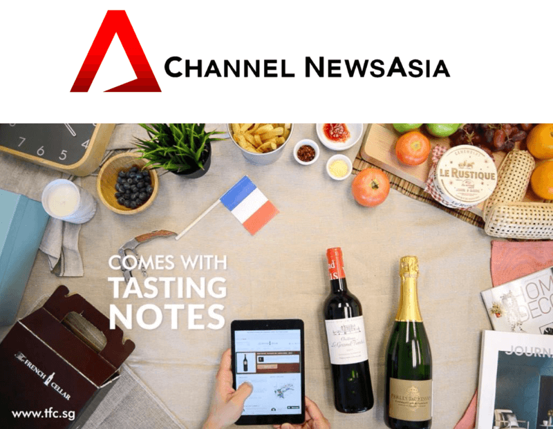 The French Cellar - Channel NewsAsia Lucky Draw. The winner is