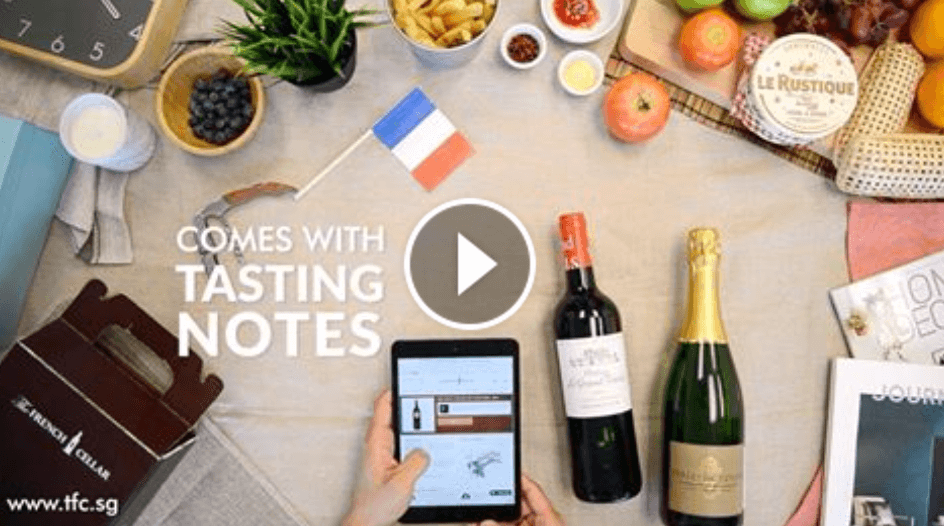 The French Cellar on Channel NewsAsia