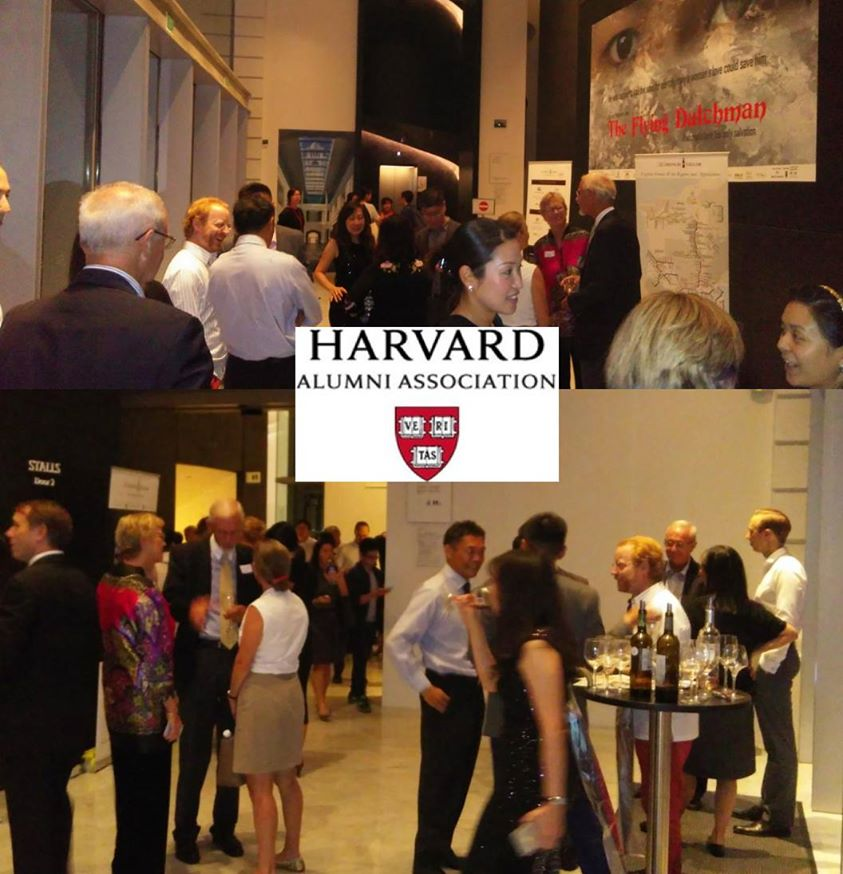 Harvard Alumni event with The French Cellar wine tasting