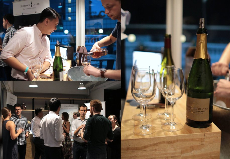 Networking event X The French Cellar wine tasting at The Hive