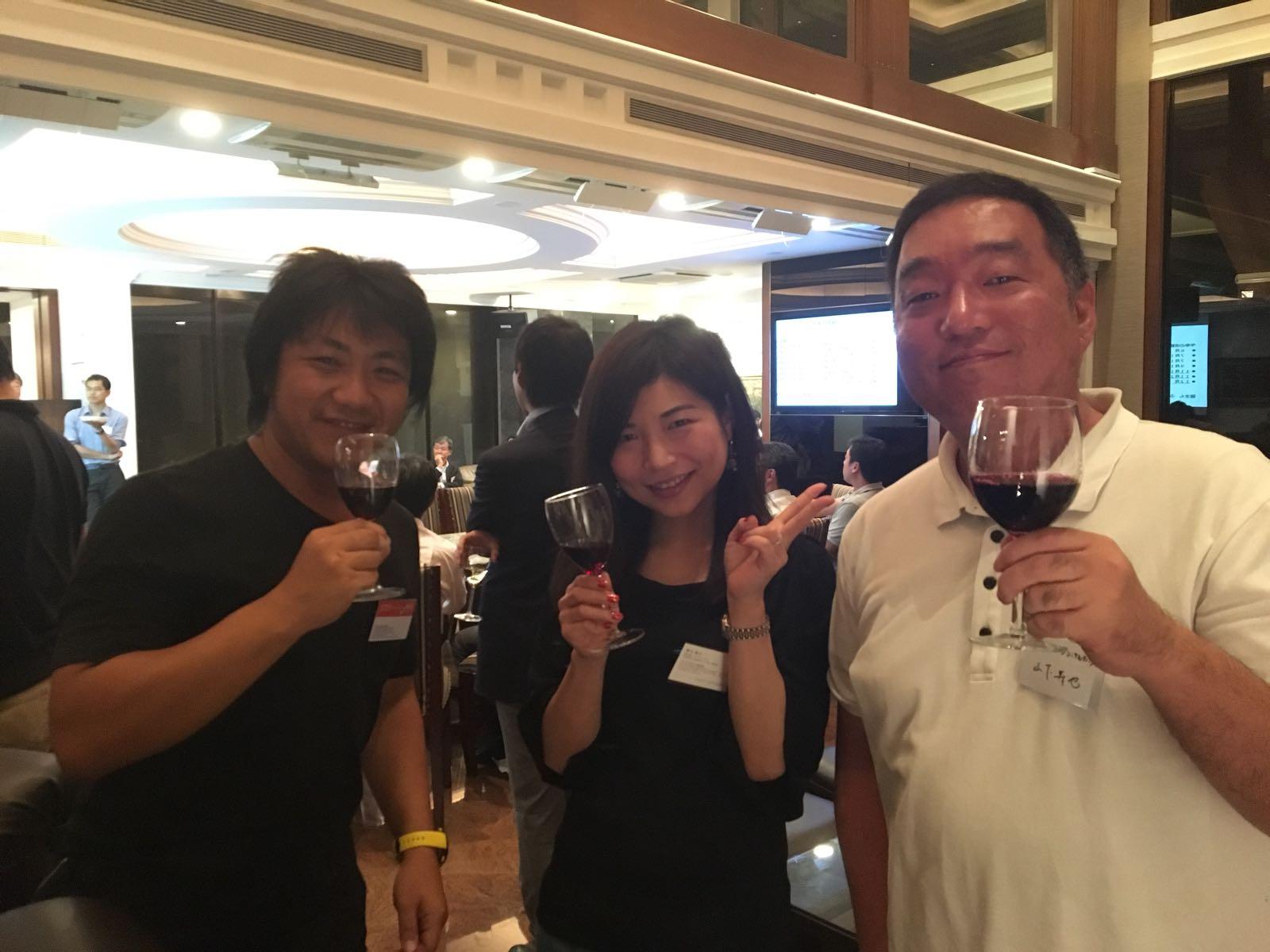 Tokyo Alumni Wine Tasting event