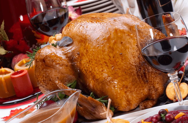 Wine Pairings: Roasted Turkey with Wine