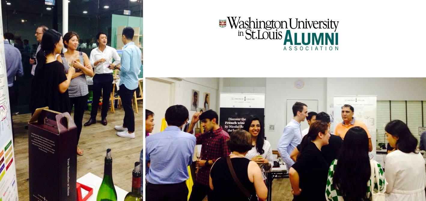 Alumni Wine Tasting event with WUSTL Alumni in Singapore